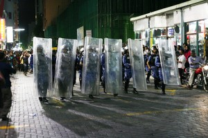 MDP protest