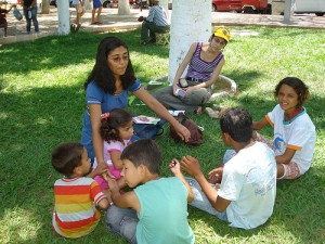 CEF Missionary Teaches Kids